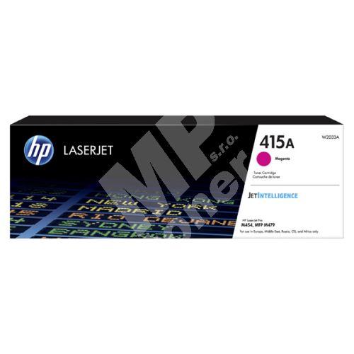 Toner HP W2033A, magenta, 415A, originál 1