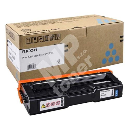 Toner Ricoh 407544, cyan, originál 1