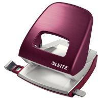 Celokovová stolní děrovačka Leitz NeXXt Style 5006, granátově červený