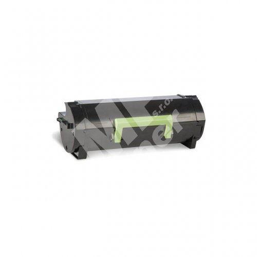 Toner Lexmark 50F2U00, black, 502U, MP print 1