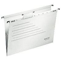 Závěsné desky Leitz ALPHA ACTIVE, bílé, balení 5 ks