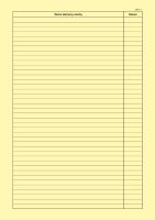 Stavební deník samopropis PT-255/ 16 stran + 3x20 listů 20