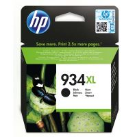 Inkoustová cartridge HP C2P23AE, Officejet 6812, 6815, 6230, black, No.934XL, originál