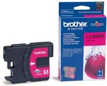 Inkoustová cartridge Brother LC-980M, DCP 145C, DCP165C, magenta, originál