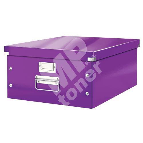 Archivační krabice Leitz Click-N-Store L (A3), purpurová 1