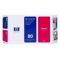 Inkoustová cartridge HP C4847A, magenta, No. 80, 350ml, originál
