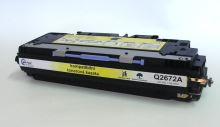 Kompatibilní toner HP Q2672A, Color LaserJet 3500, yellow, MP print