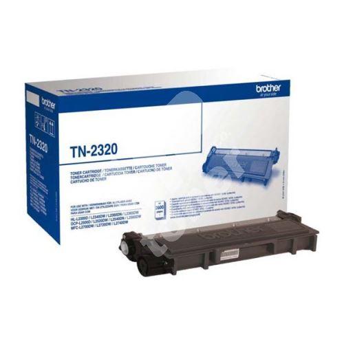 Toner Brother TN-2320, black, originál 1