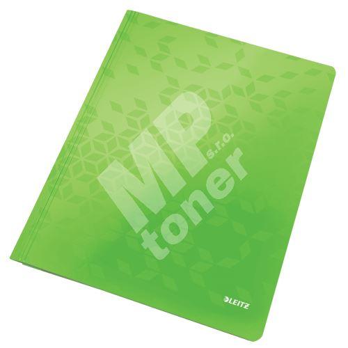 Desky s rychlovazačem Leitz WOW A4, zelené 1