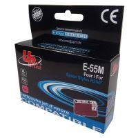 Kompatibilní cartridge Epson T055340 červená, Uprint