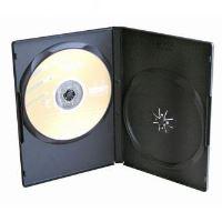 Obal, box na 2 ks DVD, černý, 9mm, 100-pack