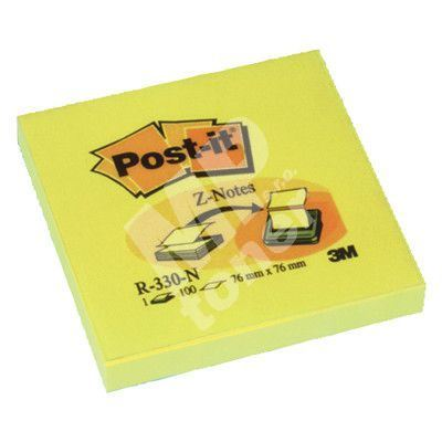 Samolepící bloček 76x76 POST-IT, R-330, 1bal/100ks