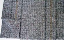 Clanax Hadr tkaný šedý na podlahu 80 x 50 cm 1 kus