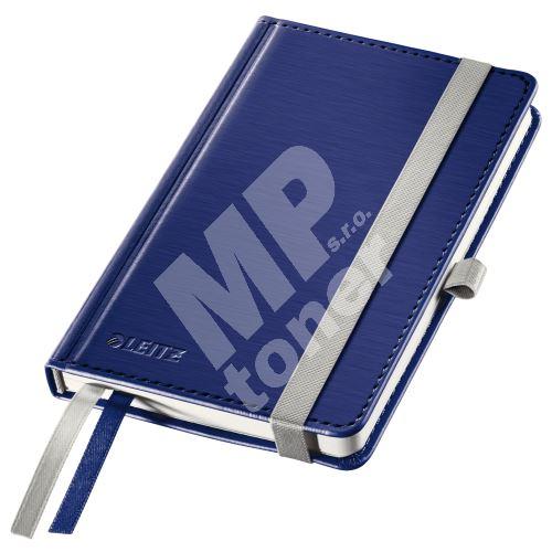 Zápisník Leitz STYLE A6, tvrdé desky, čtverečkovaný, titanově modrý 1