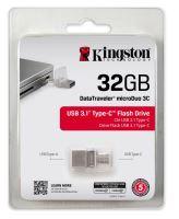 Kingston 32GB DT microDuo 3C, USB 3.0/3.1 + Type-C 5