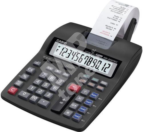 Kalkulačka Casio HR 200 TEC