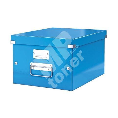 Archivační krabice Leitz Click-N-Store M (A4) wow, modrá 1