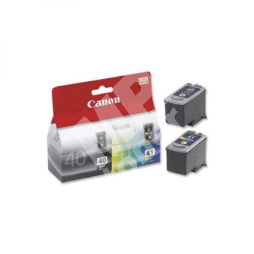 Inkoustová cartridge Canon PG-40/CL-41, iP1600, iP2200, MP150, PG40/CL41 pack, originál