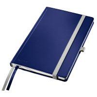 Zápisník A5 Leitz STYLE, čtverečkovaný, titanově modrý