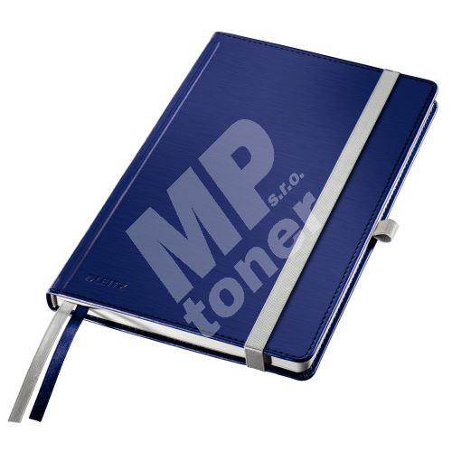 Zápisník Leitz STYLE A5, tvrdé desky, čtverečkovaný, titanově modrý 1