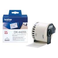 Role papírová Brother DK44205, 62mm x 30.48m, bílý, snímatelná, 1 ks 1