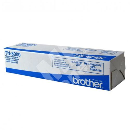 Toner Brother TN8000, originál 2