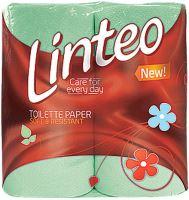 Linteo Classic toaletní papír zelený 2 vrstvý 200 útržků 4 kusy