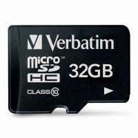 Verbatim 32GB Micro SDHC, 44013, high speed Class 10 2