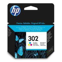 Inkoustová cartridge HP F6U65AE, OJ 3830, Deskjet 2130, color, No.302, originál