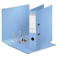 Pákový pořadač Esselte No. 1 Power z PVC A4 75 mm, solea modrý