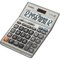 Kalkulačka Casio DF 120 B MS, stříbrná, stolní, dvanáctimístná