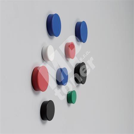 Magnety, černá, 20mm, 8 ks, NOBO 1