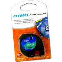 Páska Dymo LetraTag 12mm x 4m plastová zelená, 59425, S0721590