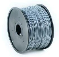 Tisková struna Gembird (filament) ABS, 1,75mm, 1kg, stříbrná