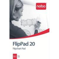Flipchartový papír Nobo, 20 listů, čistý