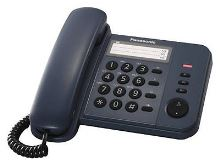 Telefon Panasonic KX-TS 520FXC modrý