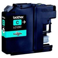 Inkoustová cartridge Brother LC-123C, MFC-J4510DW, cyan, originál