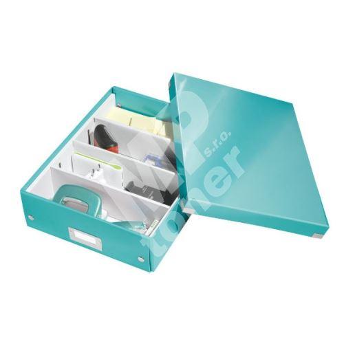 Archivační organizační box Leitz Click-N-Store M (A4), ledově modrý 1