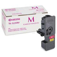 Toner Kyocera TK-5220M, EcoSYS M5521, P5021, magenta, originál