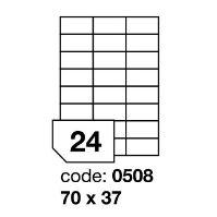 Samolepící etikety Rayfilm Office 70x37 mm 100 archů R0100.0508A 1