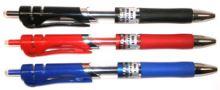 Pero gelové  6816, 0,7mm červené 1