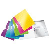 Desky s klipem Leitz WOW, PP, purpurové 4