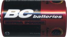 Baterie zinkochloridový 1,5V velký monočlánek Extra BC R20