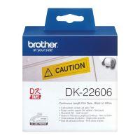 Filmová role Brother DK22606, 62mm x 15.24m, žlutá, 1 ks, pro tiskárny štítků QL