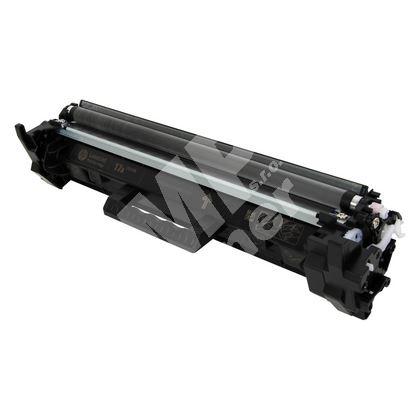 Toner HP CF217A, black, 17A, MP print 1