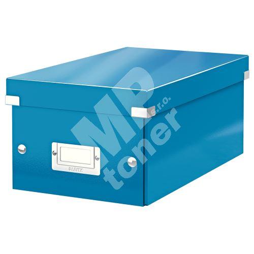 Archivační krabice na DVD Leitz Click-N-Store WOW, modrá 1