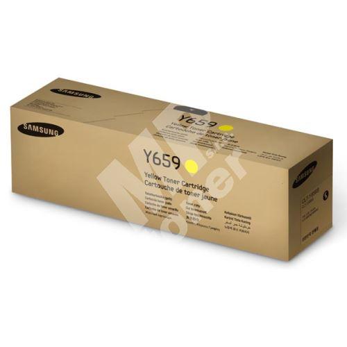 Toner Samsung CLT-Y659S/ELS, SU570A, yellow, originál 1