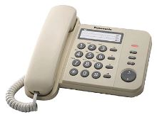 Telefon Panasonic KX-TS 520FXJ slonová kost