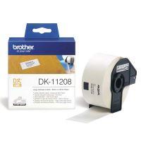 Papírové štítky Brother DK11208, 38mm x 90mm, bílá, 400 ks, pro tiskárny řady QL