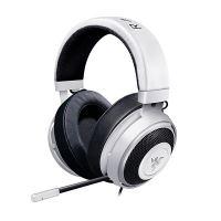 Razer Kraken Pro V2 White Oval, sluchátka s mikrofonem, bílá